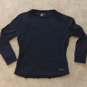 GAP boys navy blue thermal shirt